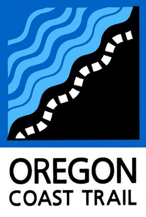 Oregon Coast Trail Wayfinding Logo
